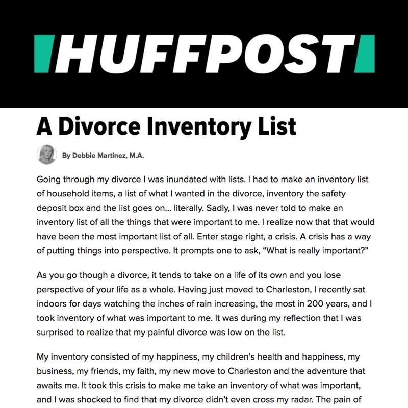 Debbie Martinez, Divorce Coach, Divorce advice, Debbie Does Divorce, Transformation thru Divorce, dating after divorce